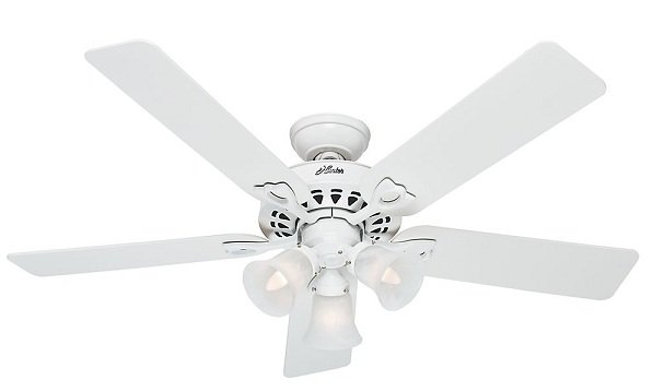 Hunter Sontera Ceiling fans with light and remote