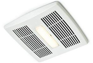 Broan Ae110L Energy Star Bathroom Fan with Led Light