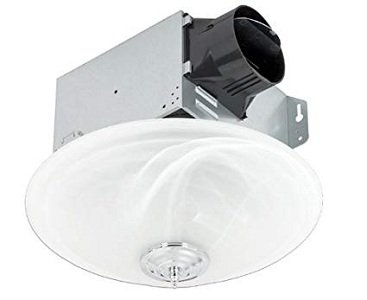 Delta Breezgreenbuilder Exhaust Bathroom Fan With Led Light
