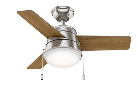 Hunter 59303 36-inch Ceiling Fan for small room