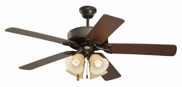 Emerson Low Profile Indoor Ceiling Fan With Light