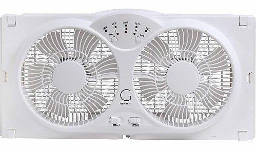 Genesis high Velocity Twin Window Fan