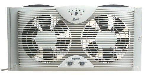 Holmes Dual Blade Twin Window Cooling Fan