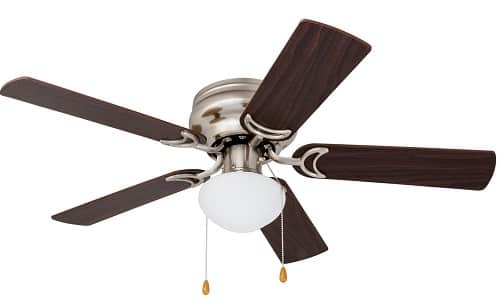 Prominence Home Low profile 40270-01 Hugger Ceiling Fan