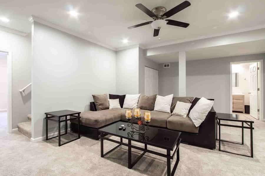 low profile ceiling fan for bedroom