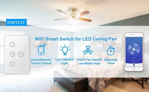 DYMCO Smart WiFi Fan Light Switch