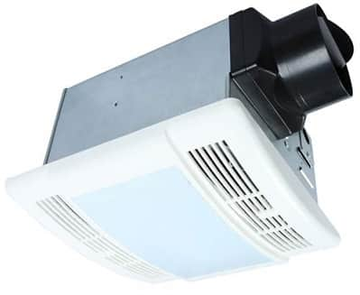 Akicon Ultra Quiet Bathroom Exhaust Fan with Light Combo