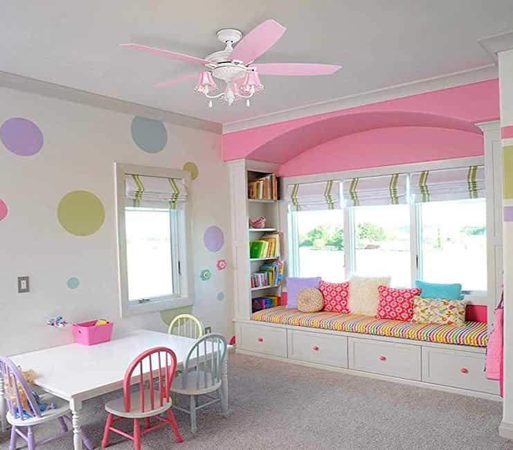 Best Nursery Ceiling Fan with Light