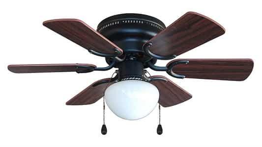 Hardware House Flush Mount Hugger Ceiling Fan