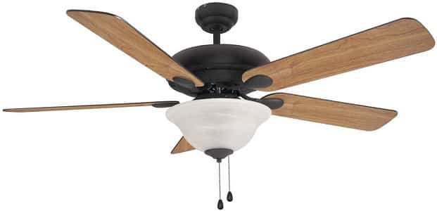 Hardware House Tuscany Vaulted Mount Ceiling Fan