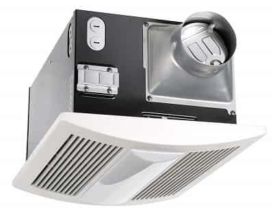 Panasonic WhisperWarm Ceiling Mounted Fan with Light