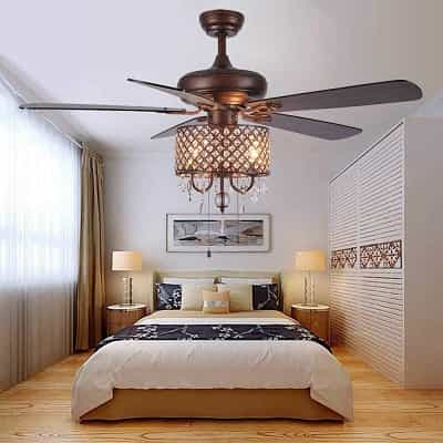 waht are benefits of flush mount ceiling fan