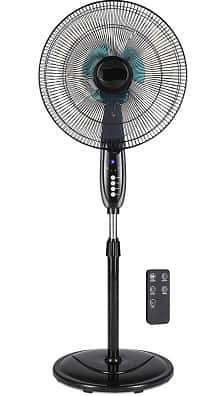 Best Choice Adjustable Oscillating Pedestal Fan with a Stand