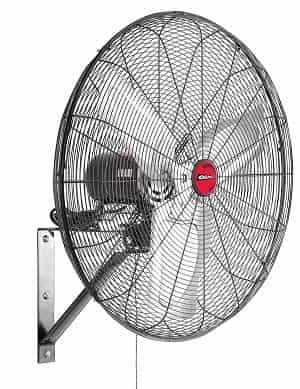 OEM Tools 24883 Oscillating Wall Mount Fan