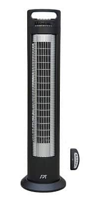 SPT SF-1523 Reclinable Tower Fan with Ionizer