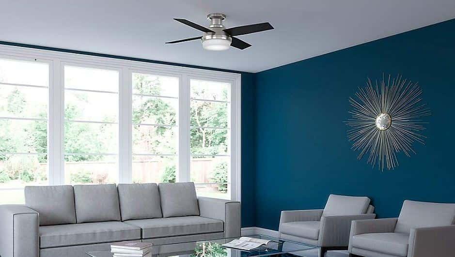 Best black flush mount ceiling fan