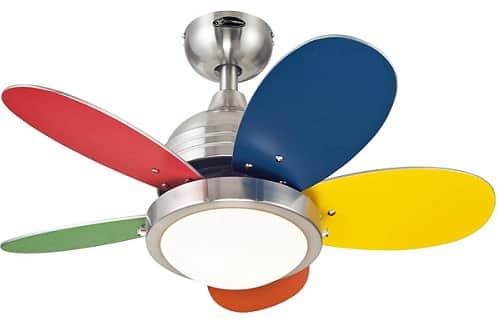Westinghouse Lighting 7247500 Indoor Playroom Ceiling Fan