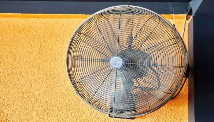 best wall mounted fans for outdoors