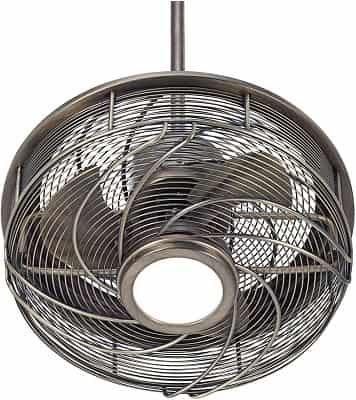 Casa Vestige Modern Outdoor Enclosed Ceiling Fan with Light