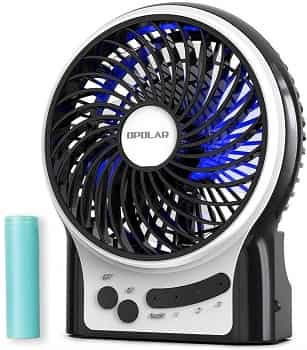 OPOLAR Battery Operated White Noise Fan