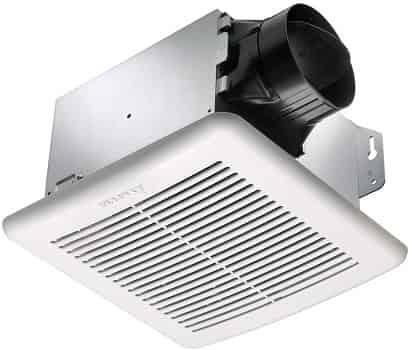 Delta BreezGreenBuilder GBR80H Exhaust Bath Fan with Humidity Sensor