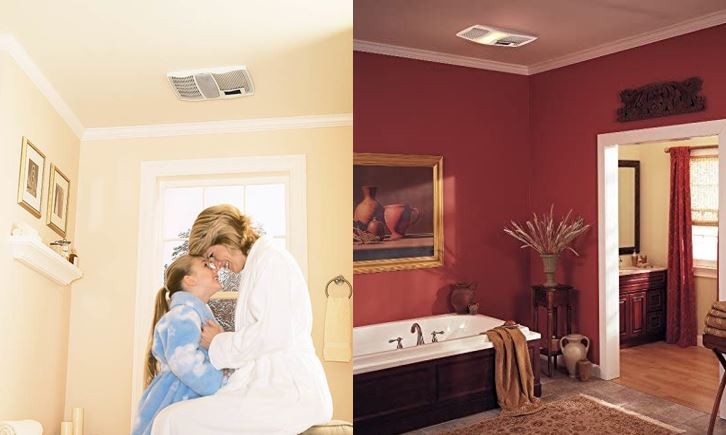 Bathroom Exhaust Fans With Light And Heater In 2020