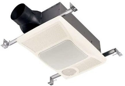 Broan-NuTone Directionally-Adjustable Bath Fan with Heater and Light