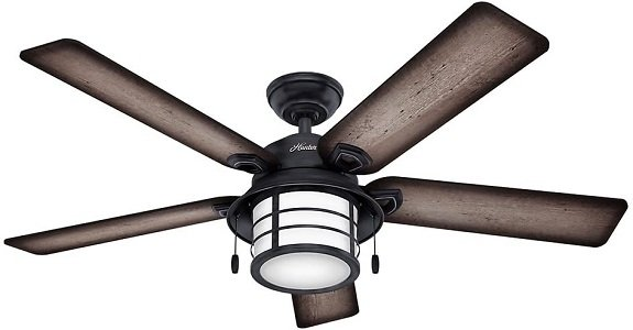 Hunter's Key Biscayne Bedroom Ceiling Fans