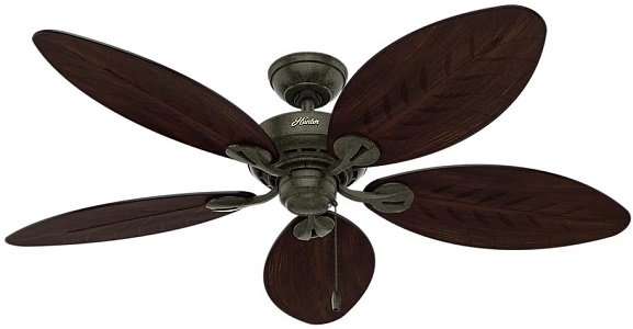 Hunter Bayview 54 inch Bedroom Ceiling Fan