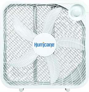 Hurricane 736501 Classic Series Silent Portable Box Fan