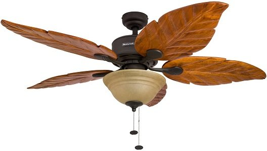 Honeywell Sabal Palm style expensive Ceiling Fan