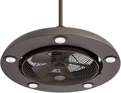 Segue 26 Inch Modern Retro Ceiling Fan with LED Light