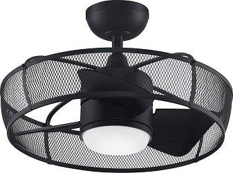 Fanimation FP8519BL Henry Enclosed Blade Ceiling Fan